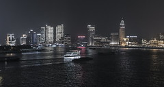 Time Lapse of Huangpu River Shanghai China (HIKARU Pan) Tags: video timelapse timelapsevideo shanghai china asia huangpuriver thebund 50l 1dx eos1dx canonef50mmf12lusm ship outdoors