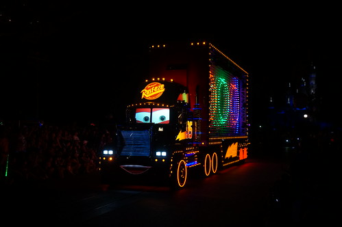 "Mack in the Paint the Night Parade • <a style=""font-size:0.8em;"" href=""http://www.flickr.com/photos/28558260@N04/20500820348/"" target=""_blank"">View on Flickr</a>"