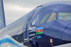 Airbus A319-100 4K-AZ04 Azerbaijan Airlines (mm-photoart) Tags: football europa azerbaijan airbus bern airlines league a319 yb brn bsc belp agdam belpmoos karabach lszb 4kaz04