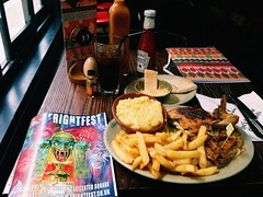 Horror & Fries...oops Chips (teonezz) Tags: london chicken soho chips fries nandos frightfest periperi