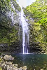 Hanakapiai Falls (mrubenstein01) Tags: hawaii waterfall hiking hike kauai tropical napalicoast kalalautrail hanakapiaifalls
