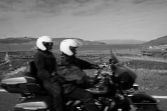 Isle of Skye (Stephen A. Wolfe) Tags: blackandwhite motion blur skye scotland motorcycle adobelightroom fujixt1 fujinonxf16mmf14 photosfromthebackseat