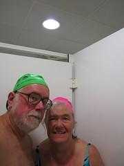 Selfies from France (yateleyart) Tags: paris seine river baker josephine piscine