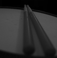 Beat It (Right Brain   Chris Piazza) Tags: blackandwhite bw blackwhite sticks drum snare rightbrain