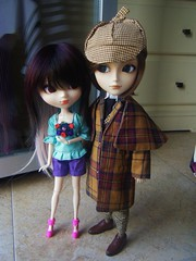 Gwen and George (it's_a_secret) Tags: dolls planning shade pullip jun taeyang stica