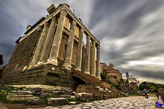 "Temple of Antoninus and Faustina • <a style=""font-size:0.8em;"" href=""http://www.flickr.com/photos/89679026@N00/21325182054/"" target=""_blank"">View on Flickr</a>"