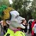 Six Flags Magic Mountain Fright Fest 2015 makeup