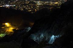 Hikers on Piestewa Peak (raptoralex) Tags: longexposure arizona mountain phoenix night squawpeak piestewapeak valleyofthesun