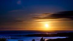 Sunset Cotillo (YomDom) Tags: blue sunset sun beauty yellow landscape spain waves fuerteventura canarias atlantic corralejo cotillo elcotillo
