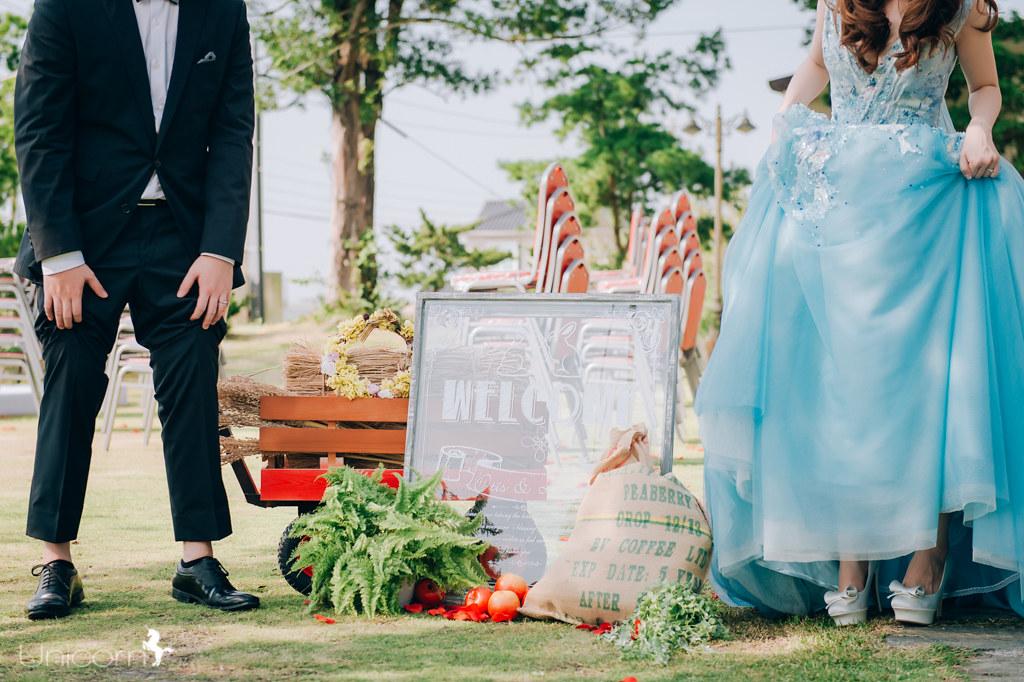 《婚攝》Otis & Laura / 苗栗蘭庭農莊花園餐廳