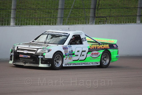 Michael Smith in Pick Up Truck Racing, Rockingham, Sept 2015