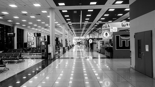 moscow airport halls