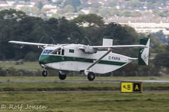 C-FARA SC-7 Skyvan 3-100 Summit Air Glasgow airport EGPF 02.10-15 (rjonsen) Tags: airport glasgow air summit skyvan egpf