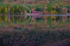 Fall - Upstate, NY (djrocks66) Tags: autumn trees sunset mountain ny mountains fall nature colors sunrise season landscape landscapes pond woods fuji forrest hiking lakes upstate foliage rivers fujifilm streams xt1 xt10