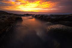 Another World (Attakorn_Bk) Tags: ocean morning sea summer sky mars cloud seascape rock sunrise landscape long exposure earth sydney australia