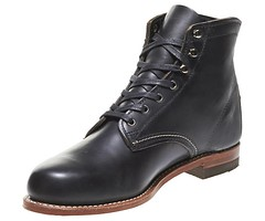 "Wolverine 1000 mile boot black • <a style=""font-size:0.8em;"" href=""http://www.flickr.com/photos/65413117@N03/22226648149/"" target=""_blank"">View on Flickr</a>"