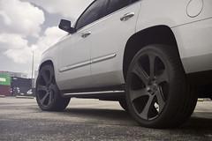 Cadillac Escalade on Dub Swerv (Dub_Wheels) Tags: auto car florida wheels cadillac rims suv dub dubs escalade stance swerv dubwheels mccustoms