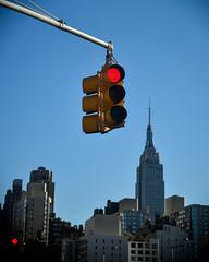 40th Street West (208) at 11th Avenue (shooting all the buildings in Manhattan) Tags: nyc newyorkcity november ny newyork architecture trafficlight us manhattan esb empirestatebuilding 40thstreet 2015 shrevelambandharmon