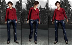 Bad Movies! (TinLiz_WinterStorm) Tags: fashion mesh sl secondlife winterscenes tuttifrutti thedeck myattic purepoison slfashion secondlifefashion sysys virtualfashion truthhair slmesh lepoppycock designercircle wowskins myatticthedeck menonlymonthly