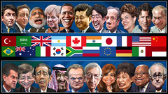 The G20 Leaders - Caricatures (update 11-16-2015) (DonkeyHotey) Tags: china uk brazil italy india canada france art argentina face japan photomanipulation photoshop turkey germany indonesia southafrica mexico us photo unitedkingdom russia unitedstatesofamerica political politics cartoon eu australia manipulation caricature politician campaign saudiarabia europeanunion karikatur caricatura commentary europeancommission barackobama politicalart angelamerkel vladimirputin republicofkorea g20 jacobzuma karikatuur davidcameron politicalcommentary europeancouncil hujintao narendramodi justintrudeau françoishollande shinzoabe malcolmturnbull leemyungbak jeanclaudejuncker hermanvanrompuy cristinafernándezdekirchner matteorenzi dilmarousseff enriquenieto ahmetdavutoglu donkeyhotey g20org jokowidodo kingsalman