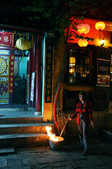 Street  Hoi An (Julien Mailler) Tags: street people night asian temple fire pagoda julien women asia vietnamese an vietnam asie lantern hoi nationalgeographic asiatique boudhist boudhism reflectionsoflife vietnamien lovelyphotos jules1405 unseenasia earthasia mailler