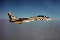 VF-2 F-14A Tomcat BuNo 158629 (skyhawkpc) Tags: airplane inflight aircraft aviation navy naval usnavy usn 1973 tomcat grumman f14a vf2bountyhunters 158629 nk201