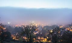 the fog eats the town (SpotShot) Tags: city fog 35mm t glow nebel view sony stadt mm fe aussicht freiburg 35 za f28 a7 sonnar leuchten eichhalde sonya7 ilce7 sony35mmf28 sel35f28z sonyfe35mmf28