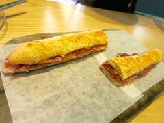 IMG_8629 (David Danzig) Tags: food june dc washington spain cured free ham sandwich pigs range 2015 ibrico blackfooted boccadillo acornfed 48month