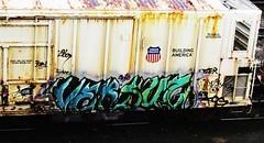 versuz (timetomakethepasta) Tags: train graffiti pacific union freight reefer armn kog versuz