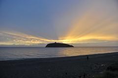 245 Diamante beach sun (Pixelkids) Tags: sunset beach sonnenuntergang calabria diamante kalabrien