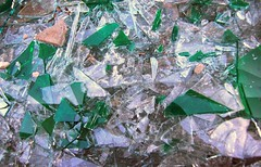 Shards / Scherben II (manoftaste.de) Tags: broken glass construction baustelle shards glas scherben zerbrochen