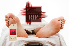 Death to Adobe Flash! (yvonneusalinksystem) Tags: usa feet hospital dead death toes body system medical whitebackground covered link sheet mistake corpse isolated malpractice gurney stretcher morgue deceased caucasian clippingpath uls toetag usalinksystem