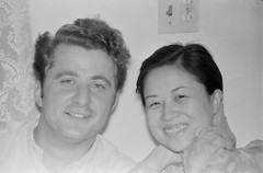 Redbook010080.jpg (The Digital Shoebox) Tags: asian portrait face amateurphotographer people epsonv600 amateur ebay film foundfilm interior scan woman couple original 35mm kodak found