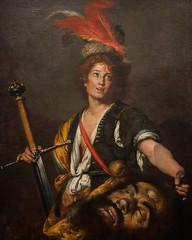 """David with the Head of Goliath"", Bernando Strozzi c. 1636 (Joey Hinton) Tags: olympus omd em1 cincinnati art museum mft m43 microfourthirds 1240mm f28"