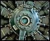 Star engine (docoverachiever) Tags: digitalprocess aircraft radialengine machine engine technology digitalart evergreenaviationspacemuseum hss oregon manmade plane machinery metal 3452