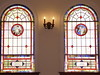 Stained Glass Windows at First Congregational Christian United Church of Christ in Hopewell, VA (LawsStainedGlass) Tags: stained glass windows church virginia hopewell