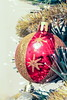 Christmas ball on the pinetree. (mikhafff1984) Tags: ball bauble blur bow branch celebrate celebrating celebration christmas closeup december decoration festive fir fragile glass happy holiday jolly merry new object ornament pattern perfect presents ribbon separated sphere traditional tree winter xmas