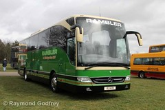 1924 RH Mercedes-Benz Tourismo - Rambler Coaches (Hastings) (Faversham 2009) Tags: mercedes detling tourismo 32 mercedesbenz rambler 1924rh maidstone kent coach coaches