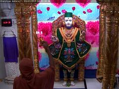 Ghanshyam Maharaj Shringar Darshan on Tue 03 Jan 2017 (bhujmandir) Tags: ghanshyam maharaj swaminarayan dev hari bhagvan bhagwan bhuj mandir temple daily darshan swami narayan shringar