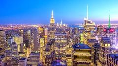 From Trump Tower (talv_ss) Tags: nyc newyork usa travelphotography travel empirestatebuilding trumptower downtown nightphotography night sunset building city citylife cityscape urban urbex nikon