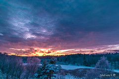 Epic Winter Sunset in Sweden (davidshred) Tags: nikon d3300 sigma 1020 david janglöv epic photo shred nynäshamn winter landscape sunrise paradise