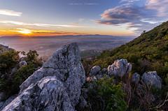 | Le due falesie | (valerio.clementi) Tags: umbria terni santerasmo tramonto panorama pentax k5 1020sigma35 sunset colors nature green heart ngc