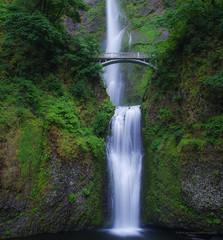 Lush (carolina_sky) Tags: multnomahfalls oregon columbiarivergorge waterfalls portland lush green silky bridge basalt volcanic longexposure pentaxk1 pentax2470 k1 pixelshift