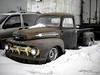 1951 Ford F6 (G. Maxwell) Tags: 2017 em1 ontario zuiko winter autophotography oldstuff olympus utica rustystuff pickuptruck olym25mmf12 ford trucks rustyandcrusty ericscustomcars