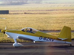 G-BZRV Vans RV6 (Aircaft @ Gloucestershire Airport By James) Tags: gloucestershire airport gbzrv vans rv6 egbj james lloyds
