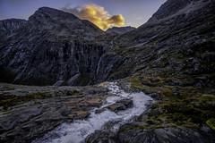 Down we go (Kari Siren) Tags: river mountain valley geiranger norway stream