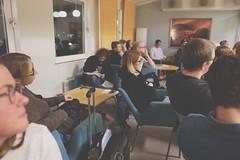 Teologgrupp på THS. Ikväll pratar vi om hur vi kan få församlingar att växa!