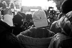 1 luv (bw) (Brotha Chris) Tags: event eventphotographer photoart polo hiphop culture love art style 42ndstreet 42nd timessquare nyc midtown manhattan portrait portraiture canon outdoor outdoors rap fly goose clothes ralphlauren lauren horse gathering