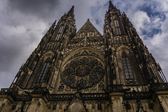 Gothic power (andbog) Tags: sony alpha ilce a6000 sonya6000 emount mirrorless csc sonya oss sel 1650mm selp1650 architettura architecture church chiesa gothic building catedral cathedral facade façade sonyα sonyalpha sony⍺6000 sonyilce6000 sonyalpha6000 ⍺6000 ilce6000 apsc edificio iglesia cattedrale stainedglass praga prague praha prag repubblicaceca cechia českárepublika czechrepublic boemia čechy böhmen malástrana stvituscathedral overcast nuvoloso