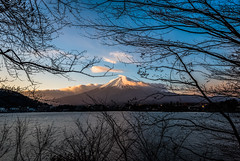 Mt. Fuji. (aludatan) Tags: travel backpacker mountain mtfuji mountainfuji lakekawaguchiko kawaguchiko japan nature lake landscape 旅行 山 富士山 河口湖 日本 大自然 風景 iamnikon astoundingimage